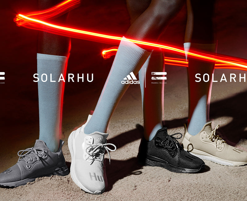 adidas by Pharrell Williams :: SolarHu Greyscale