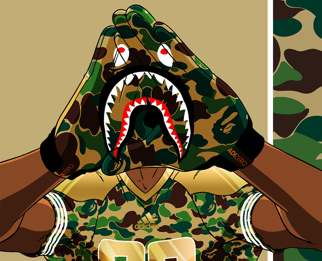 e4d504f490be adidas   BAPE Reveal Limited-Edition Collection – Proper