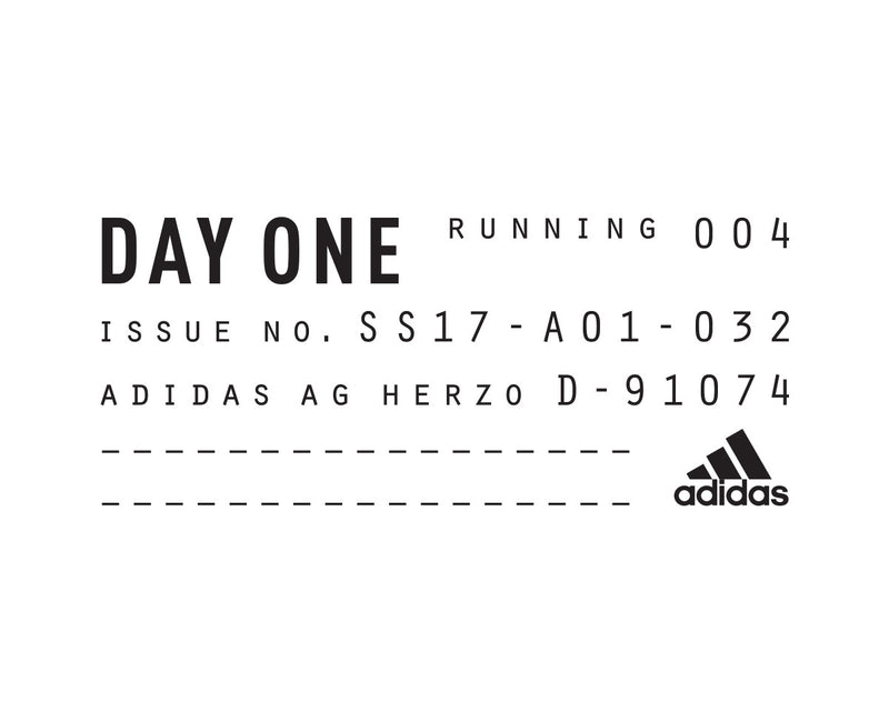 ADIDAS DAY ONE SS 2017 - REIMAGINING RUNNING ESSENTIALS