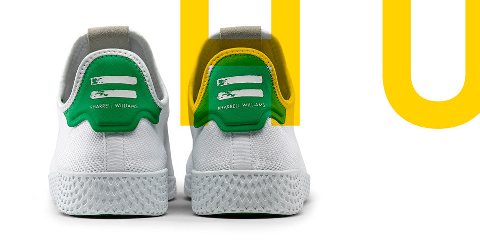 9a8ac1cd8cb adidas Originals = Pharrell Williams. Hu is more than a campaign or a  collection of footwear models, it represents a belief. Hu, a name based on  the first ...