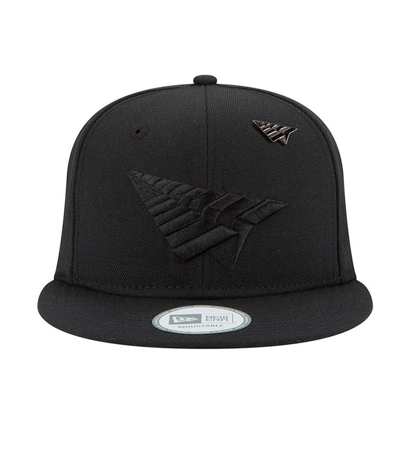 The Crown Blackout Snapback (Black)