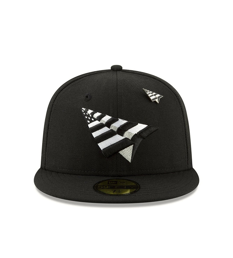 The Original Crown Fitted Hat (Black / Green)