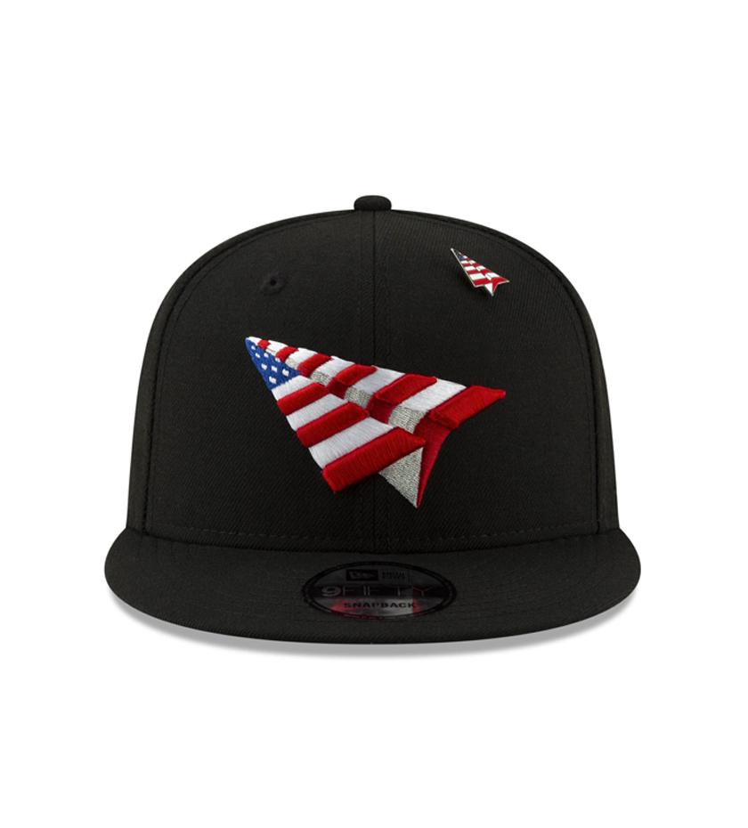 American Dream Crown Snapback (Black)