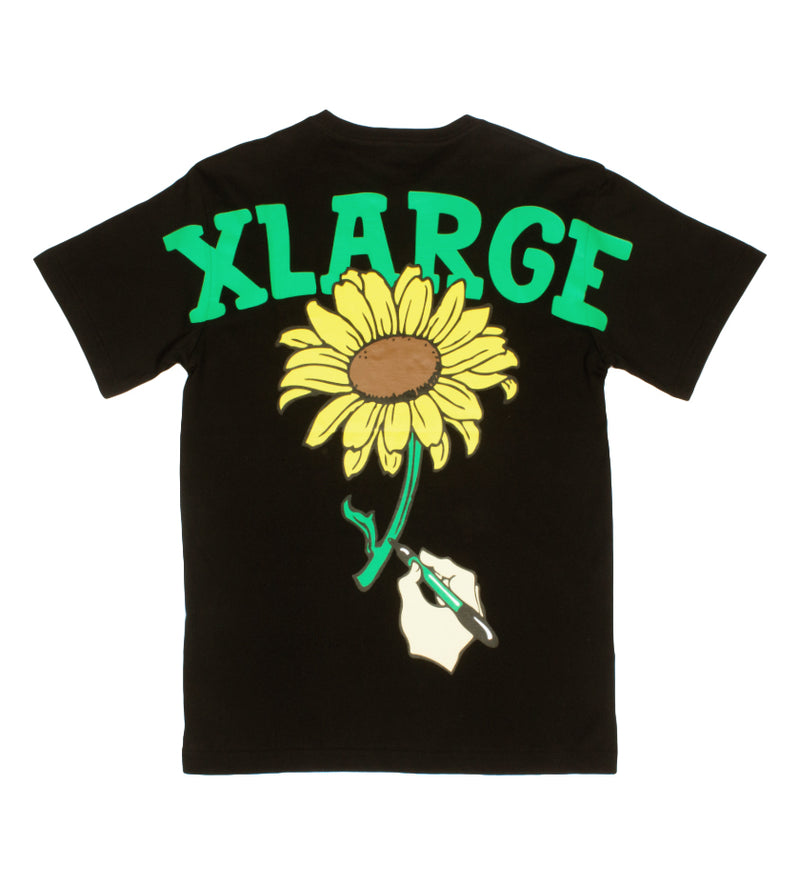 S/S Sunflower Tee (Black)
