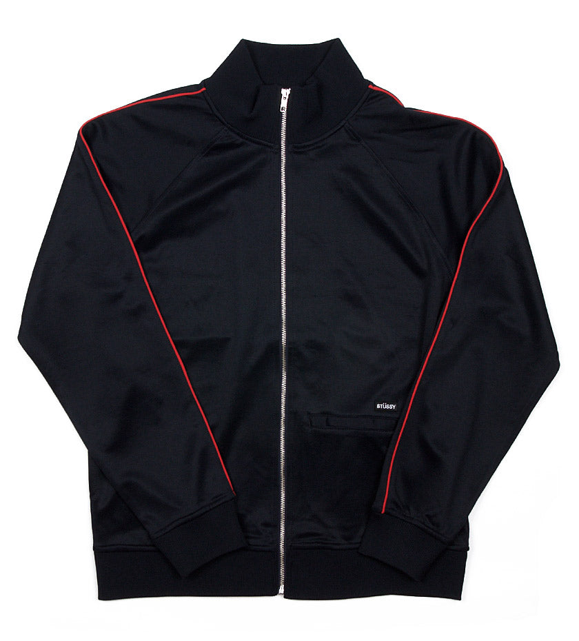 Poly Track Jacket (Navy)