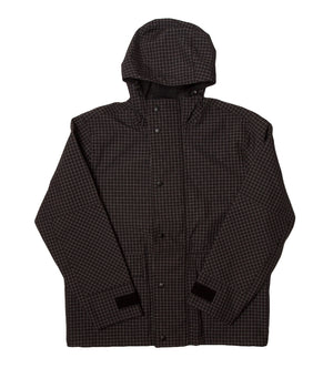 Shell Hooded Jacket (Black)