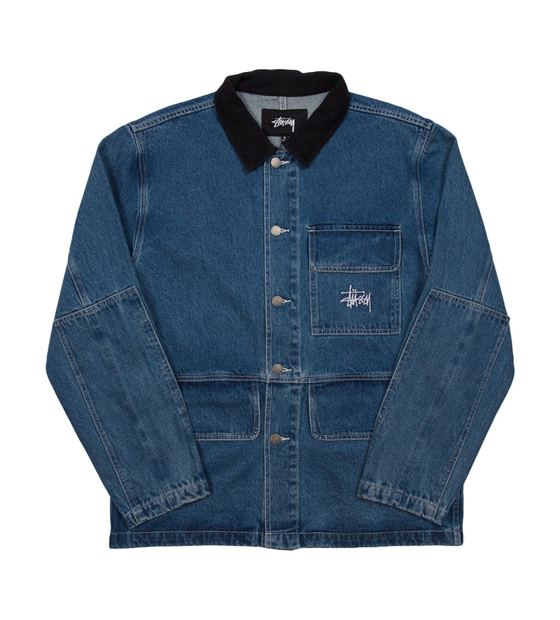 Denim Chore Coat (Blue)