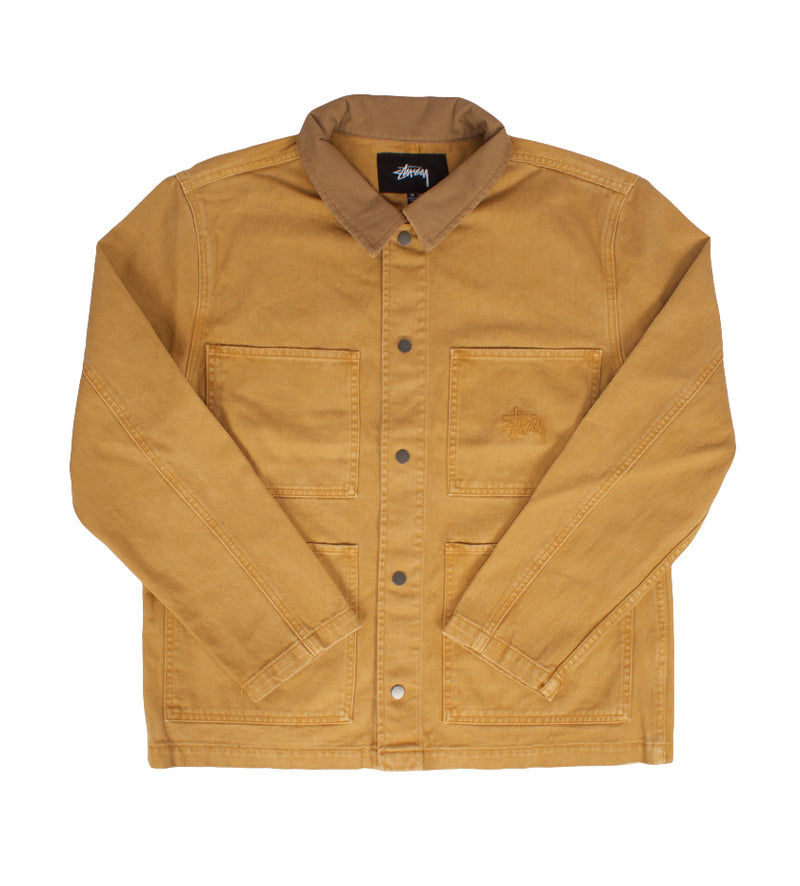 Heavy Wash Chore Jacket (Gold)