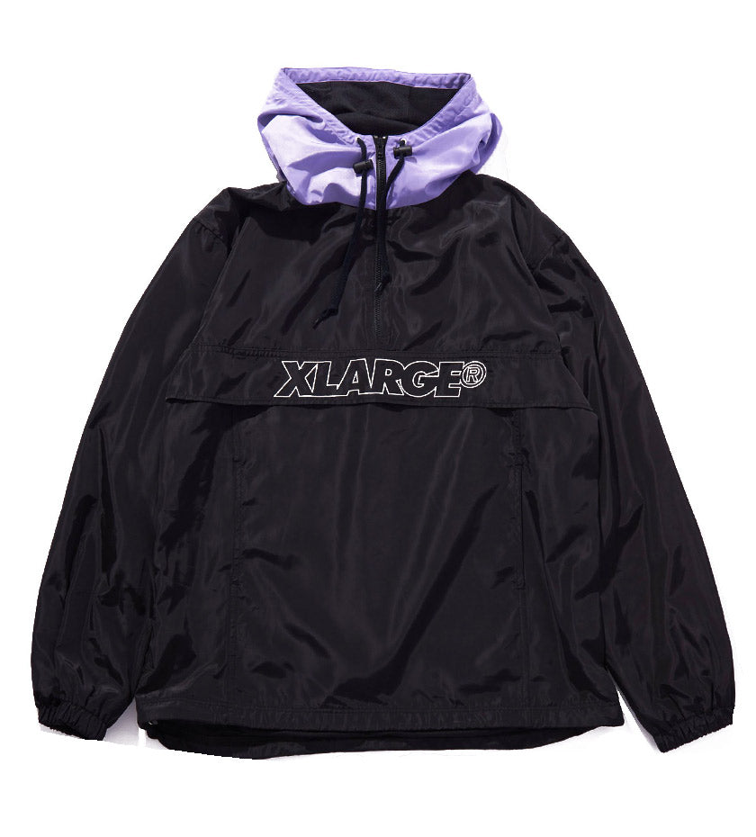 2Tone Anorak Jacket (Black)