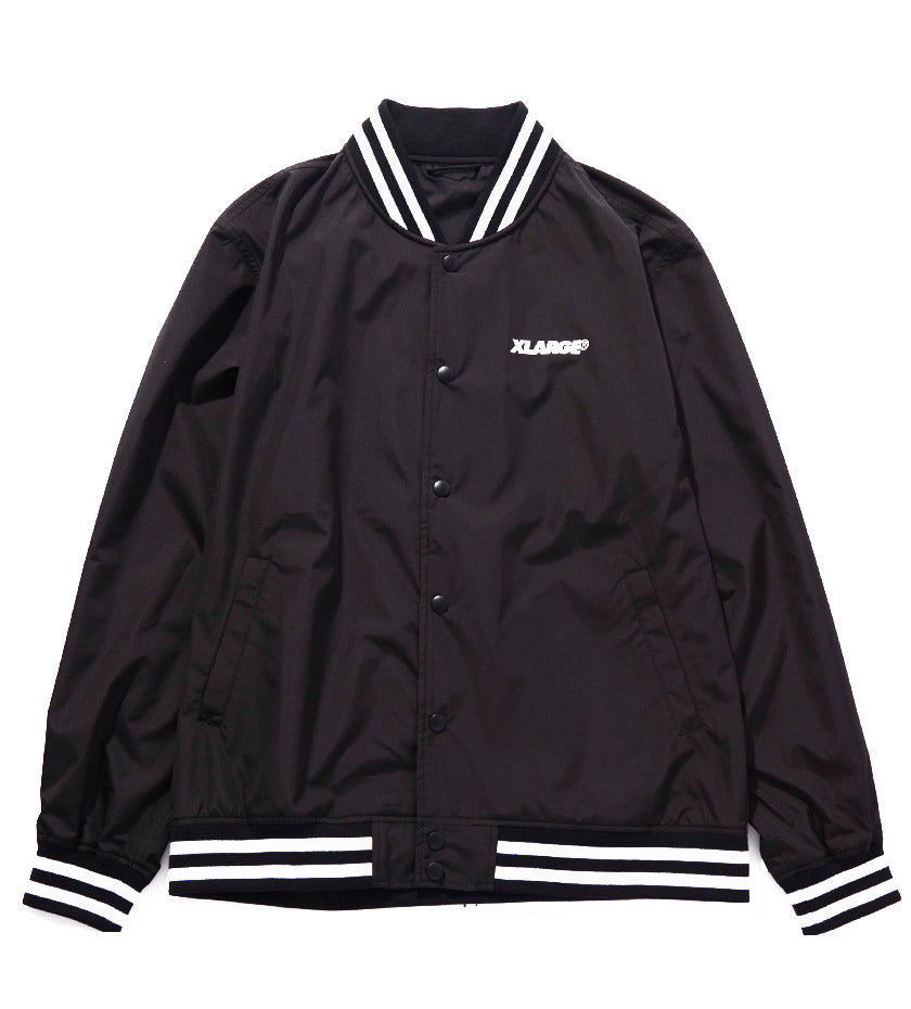 Slanted OG Varsity Jacket (Black)