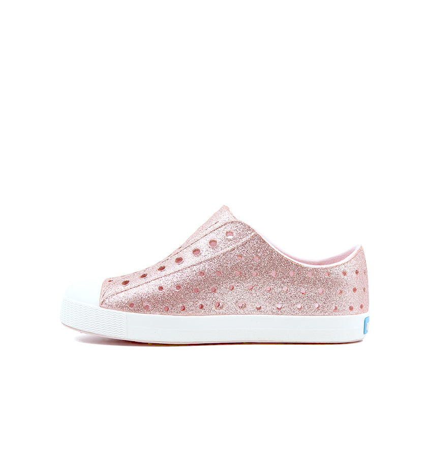 Jefferson Bling Junior (Milk Pink Bling / Shell White)