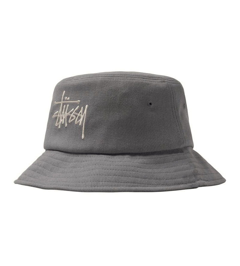 Big Logo Twill Bucket Hat (Grey)