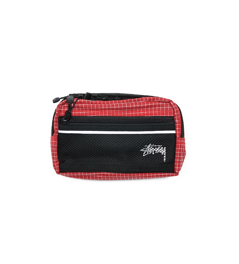 Ripstop Nylon Waist Bag (Red)