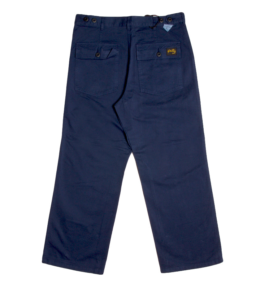 Wide Leg Fatigue (Navy)