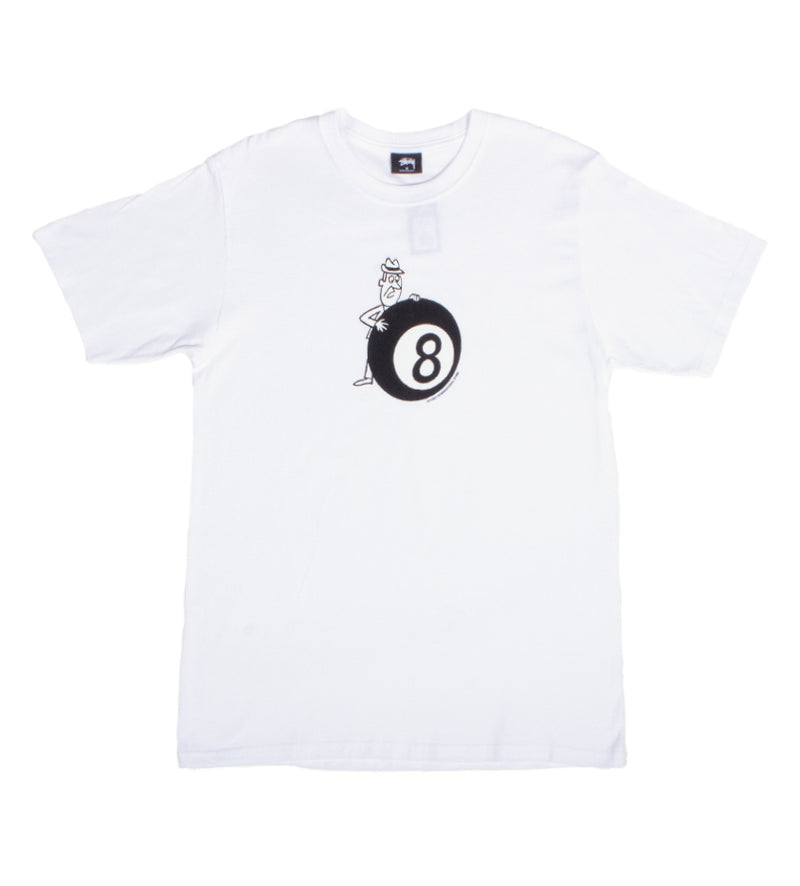 Behind The 8 Ball Tee (White)