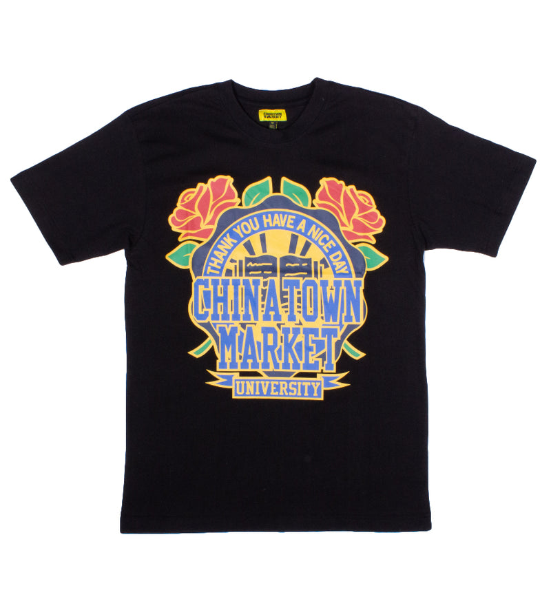Rose Garden T-Shirt (Black)