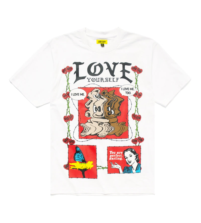 Never Be Alone Bear T-Shirt (White)