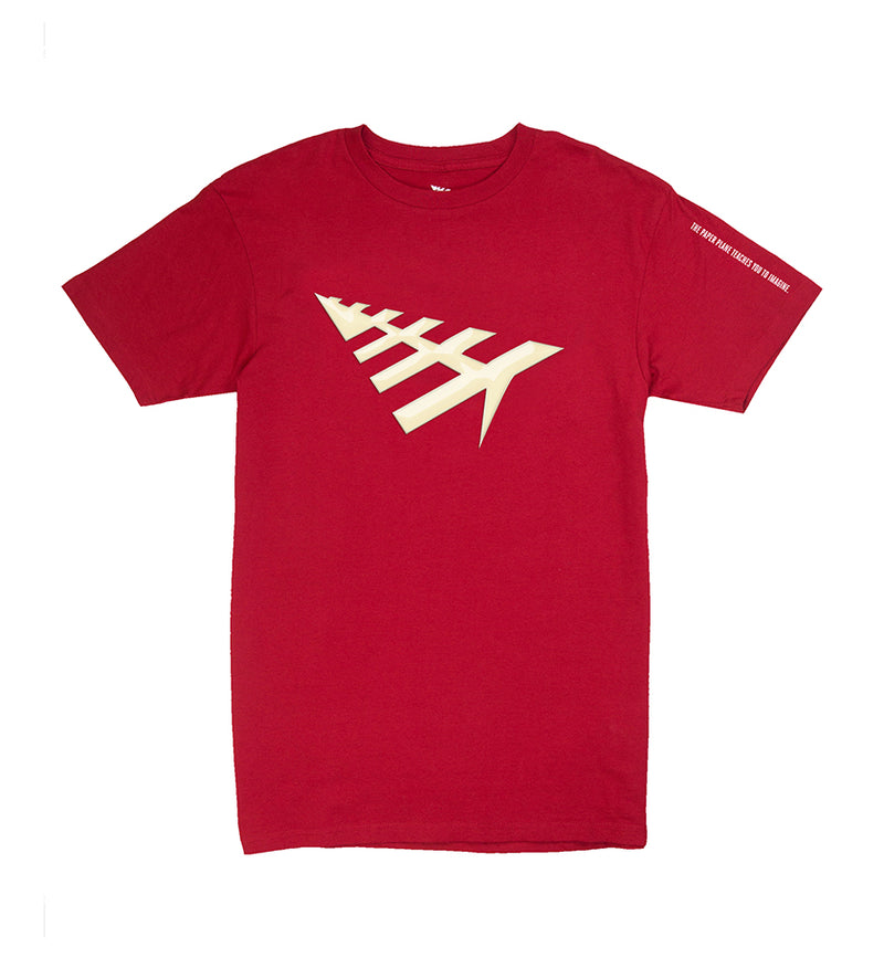 All Points Tee (Crimson)