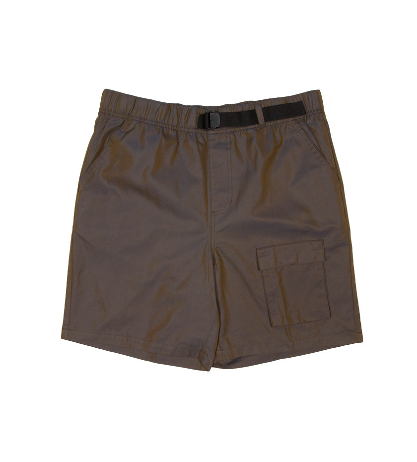 Iridescent Pocket Short (Grey)