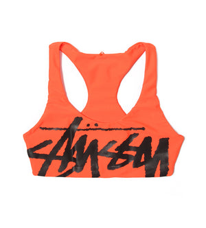 Myla Swim Top (Neon Orange)