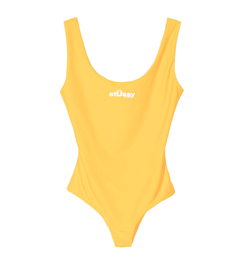 Stussy Design One PC Swim Suit (Tangerine)