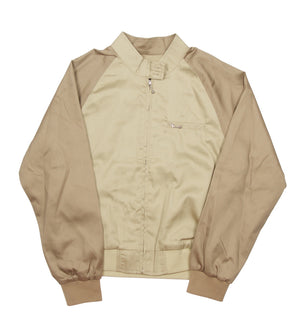 Louise Two Tone Harrington Jacket (Khaki)
