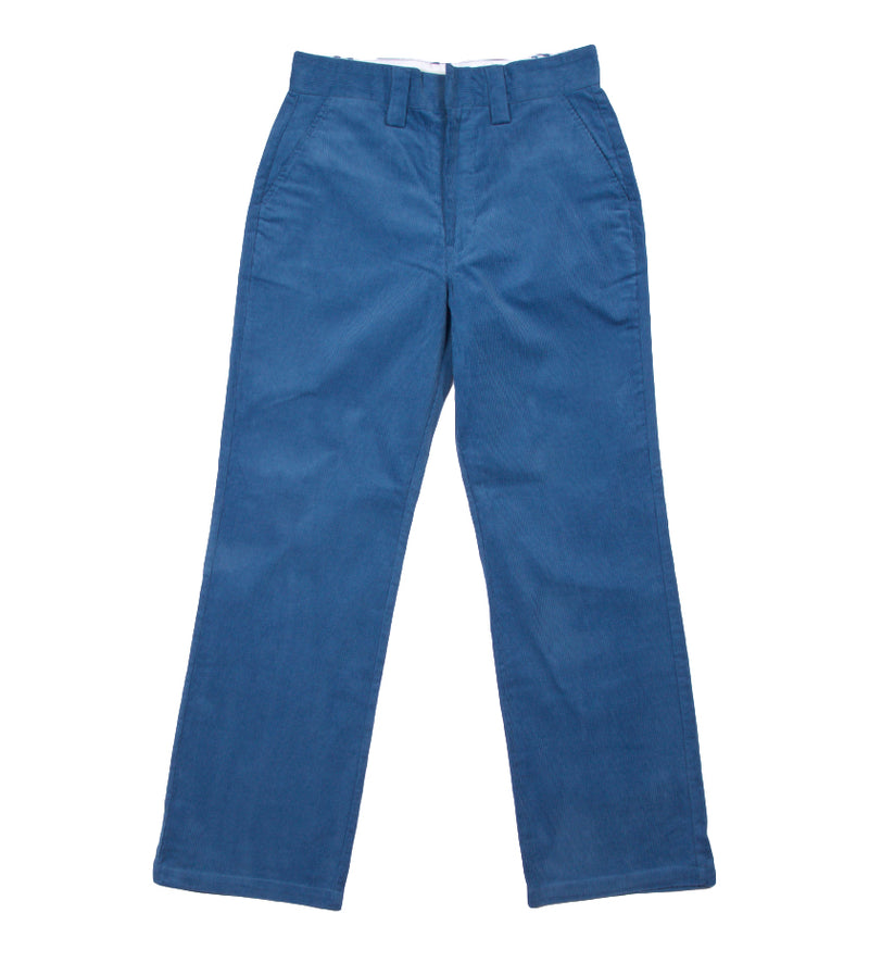 Corduroy Wide Pant (Blue)