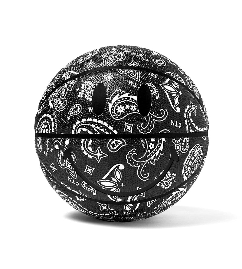 CTM x YG Smiley Paisley Basketball (Black)