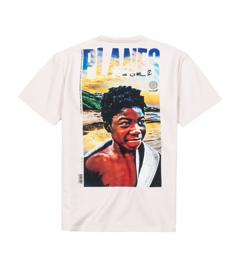 Poster French Terry Tee (Ivory)