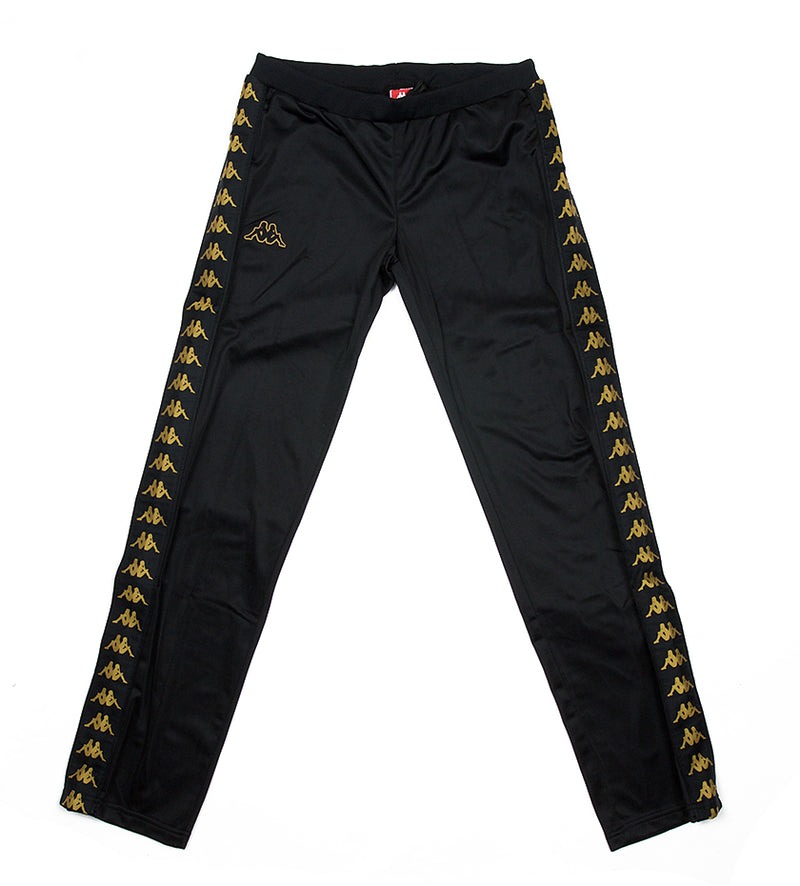 Women's Kappa 222 Banda Wastoria Pant (Black/Gold)