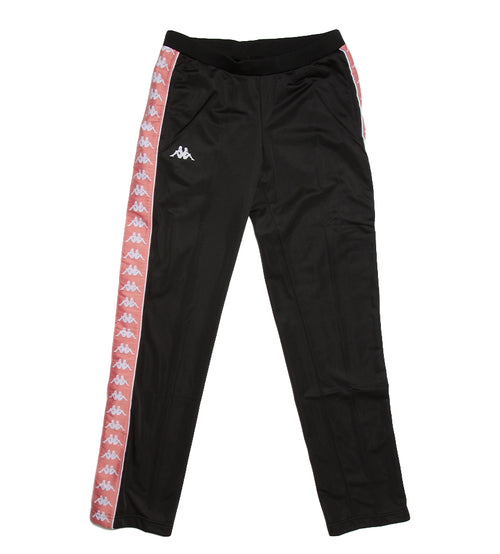 892215622ab Kappa · Women's 222 Banda Wastoria Track Pants (Black/Pink/White)