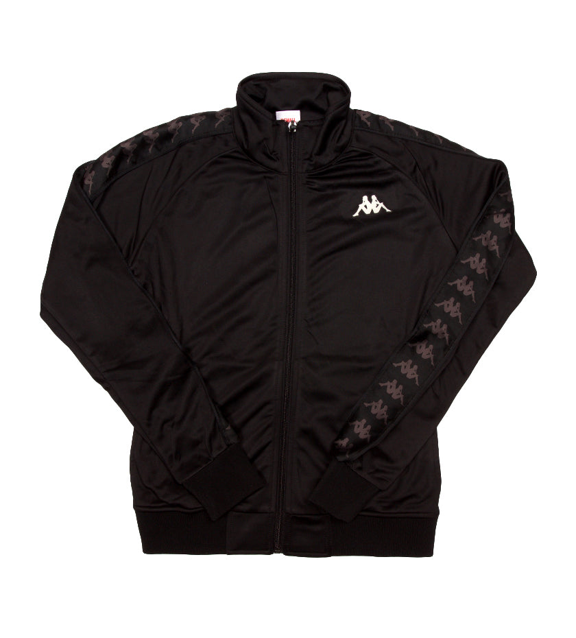 Women's 222 Banda Wanniston Slim Track Jacket (Black / White Antique)
