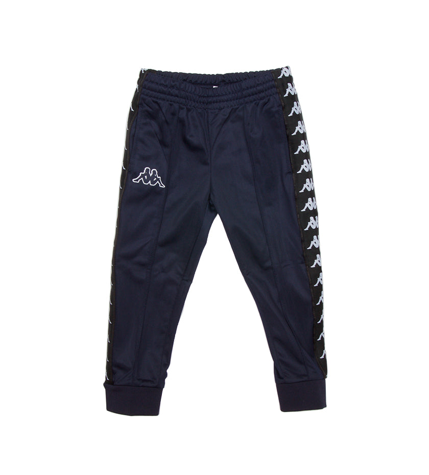 Kids 222 Banda Rastoria Slim Trackpants (Blue Marine/Black)