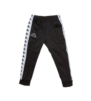 Kids 222 Banda Rastoria Slim Trackpants (Black/White)