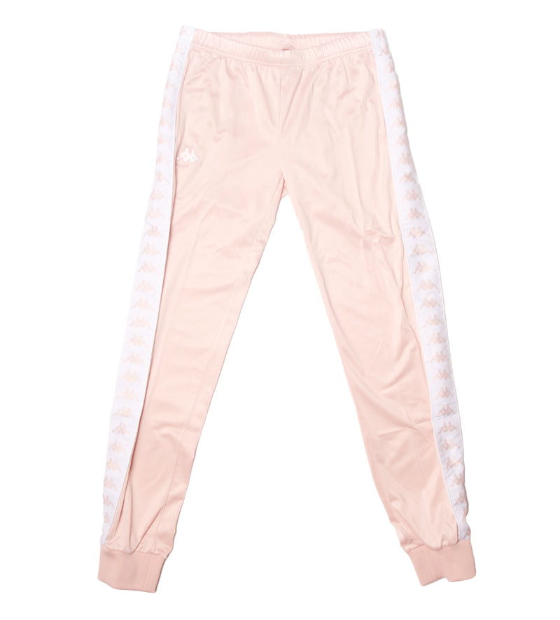 Women's 222 Banda Wrastoria Slim Trackpants (Pink / White)