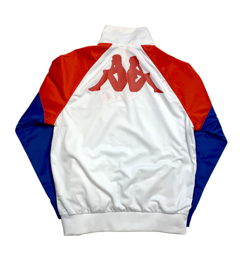 Authentic La Baswer Sweatshirt (White / Red / Blue)