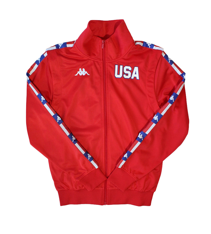 Authentic La Banir Track Jacket (Red / Blue)