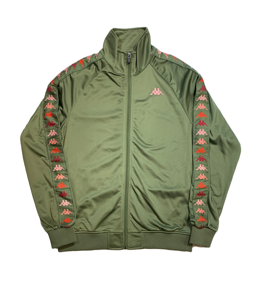 222 Banda Dullo Track Jacket (Green / Pink)