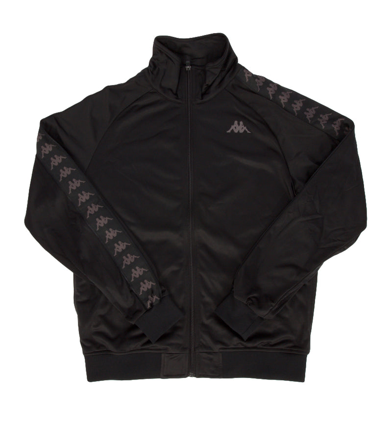 222 Banda Anniston Track Jacket (Black / Dark Grey)