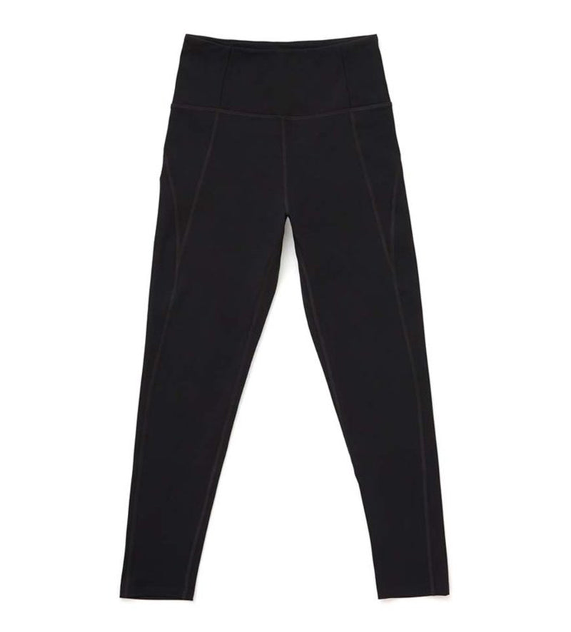 Compressive High-Rise Legging - Full-Length (Black)