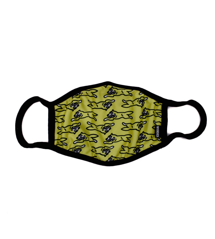 Moving Mask (Neon Yellow)