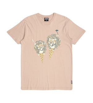 Full Fat S/S Tee (Rose Smoke)