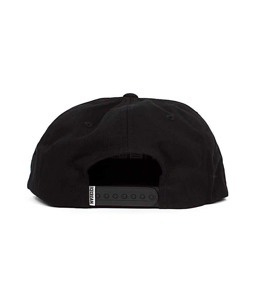 Running Snapback Hat (Black)