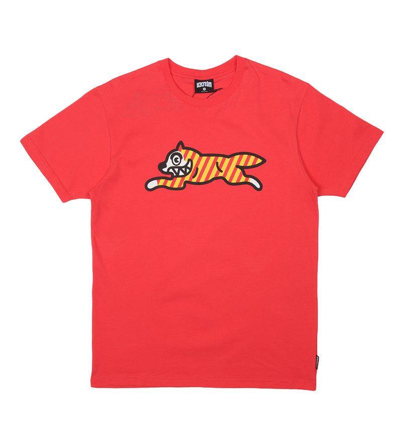 Yikes Stripes S/S Tee (Claret Red)