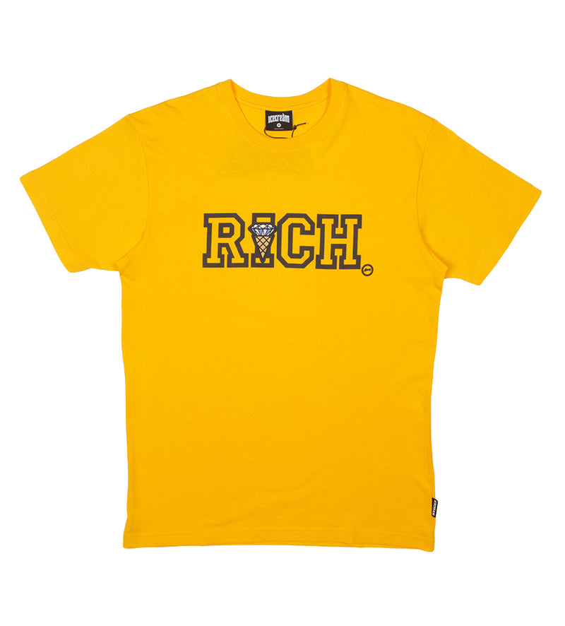Richer S/S Tee (Spectra Yellow)