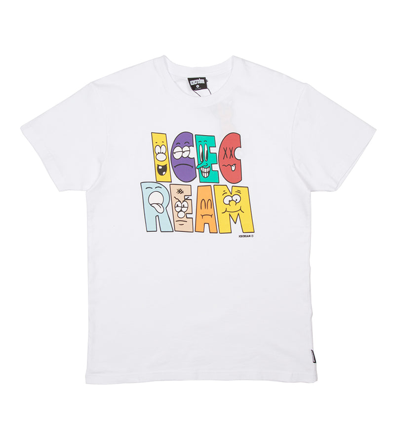 Characters S/S Tee (White)