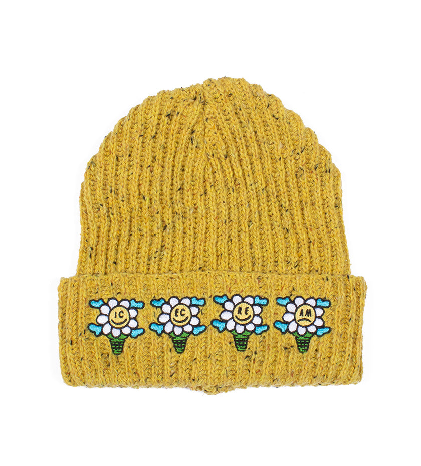 Speck Knit Hat (Radiant Yellow)
