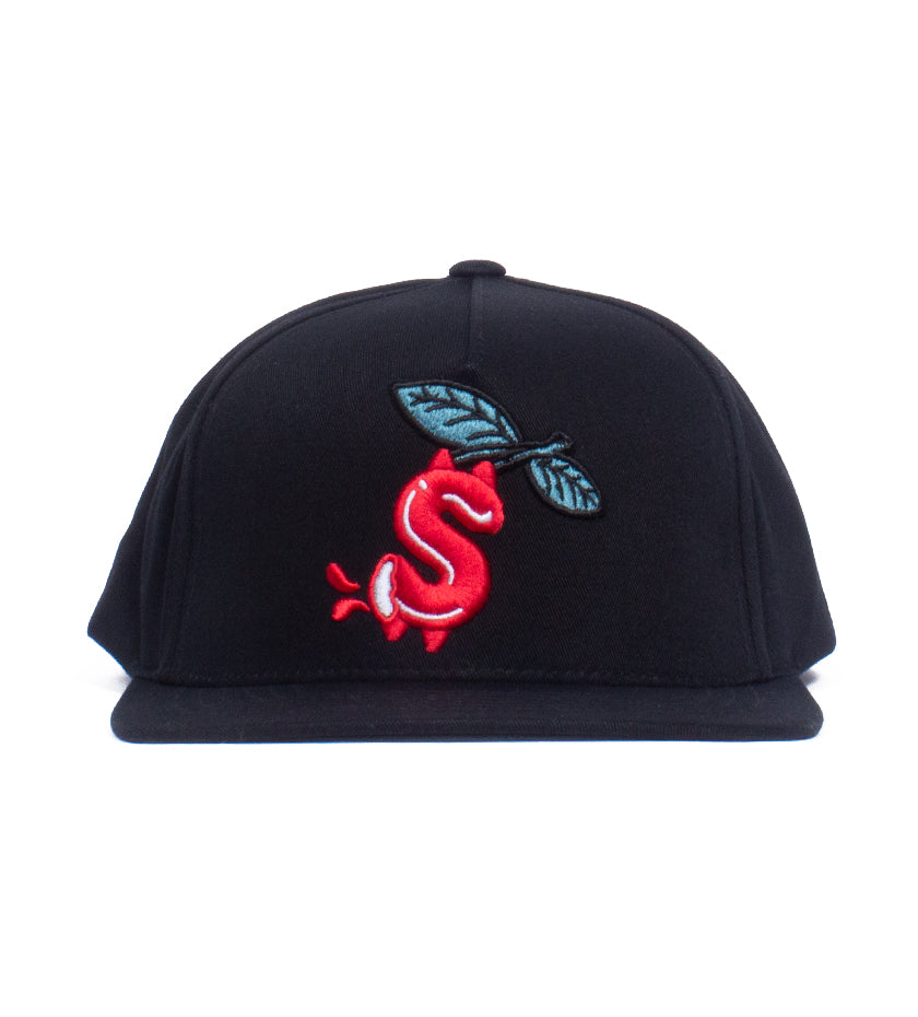 Money Snapback Hat (Black)