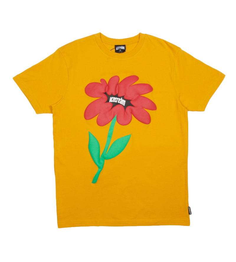 Flower S/S Tee (Golden Yellow)