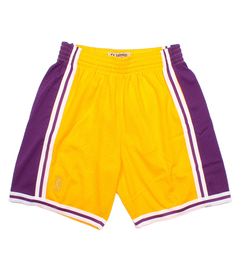 Los Angeles Lakers Swingman Shorts (Purple/Gold)